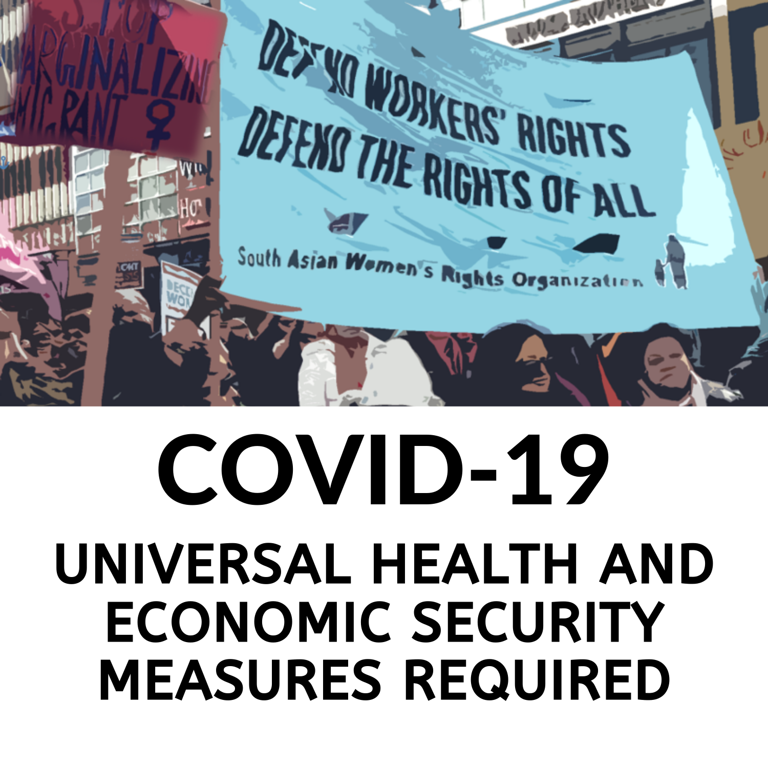 Report: Universal health and economic security measures required!