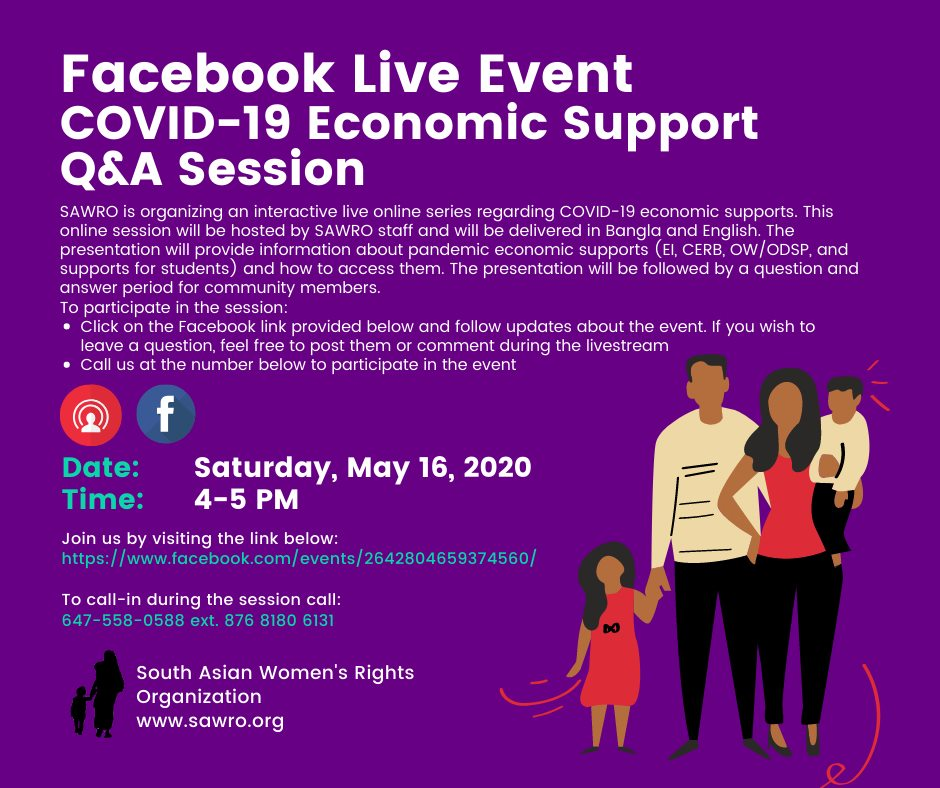 Economic Supports Online Q&A Session