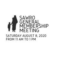 SAWRO General Meeting Webinar: Instructions